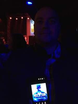 SFC Aaron Pry attended Rodney Atkins on Feb 7th 2020 via VetTix