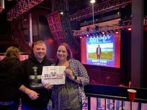 Thomas attended Rodney Atkins on Feb 7th 2020 via VetTix