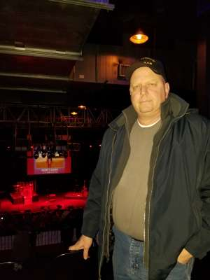 Tim attended Rodney Atkins on Feb 7th 2020 via VetTix