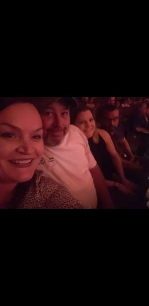 Cindy attended Tracy Byrd on Feb 13th 2020 via VetTix