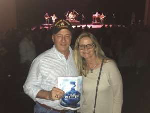 John attended Tracy Byrd on Feb 13th 2020 via VetTix