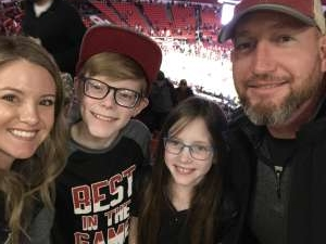 Donovan attended Oklahoma Sooners vs. West Virginia Mountaineers - NCAA Men's Basketball on Feb 8th 2020 via VetTix