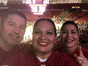 Larry attended Oklahoma Sooners vs. West Virginia Mountaineers - NCAA Men's Basketball on Feb 8th 2020 via VetTix