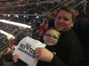 timothy attended New Jersey Devils vs. Columbus Blue Jackets on Feb 16th 2020 via VetTix