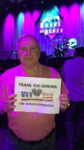 Jerry attended Queen Legacy - a Tribute to Queen on Mar 12th 2020 via VetTix