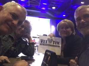 Bare attended Rick Bronsons House of Comedy on Feb 27th 2020 via VetTix