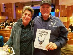 Donald attended The Music of Abba with Rajaton on Feb 7th 2020 via VetTix