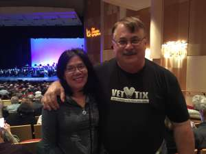 Charles attended The Music of Abba with Rajaton on Feb 7th 2020 via VetTix