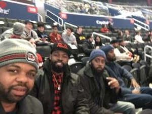 Christopher attended Washington Wizards vs. Memphis Grizzlies - NBA on Feb 9th 2020 via VetTix