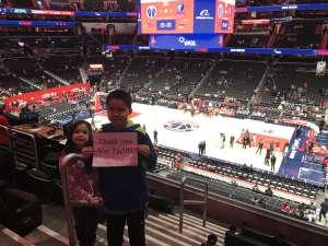 Gerald attended Washington Wizards vs. Memphis Grizzlies - NBA on Feb 9th 2020 via VetTix