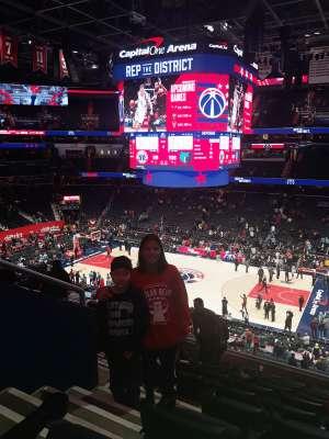 Singh Family  attended Washington Wizards vs. Memphis Grizzlies - NBA on Feb 9th 2020 via VetTix