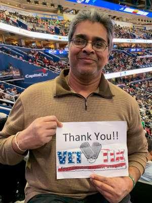 Ravi attended Washington Wizards vs. Memphis Grizzlies - NBA on Feb 9th 2020 via VetTix