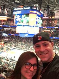 Justin attended Washington Wizards vs. Memphis Grizzlies - NBA on Feb 9th 2020 via VetTix