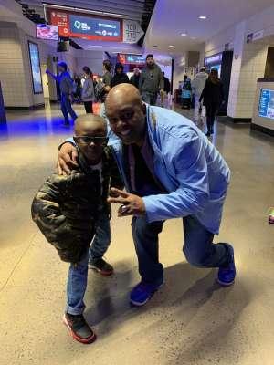 Gordon attended Washington Wizards vs. Memphis Grizzlies - NBA on Feb 9th 2020 via VetTix