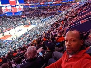Omar attended Washington Wizards vs. Memphis Grizzlies - NBA on Feb 9th 2020 via VetTix