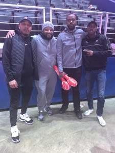 Beatrice attended Washington Wizards vs. Memphis Grizzlies - NBA on Feb 9th 2020 via VetTix