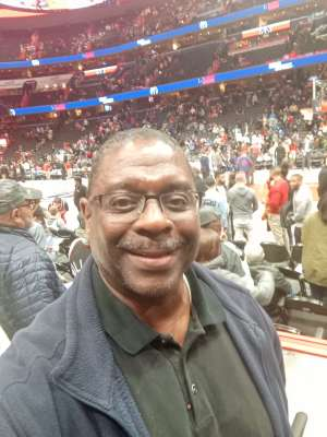 George attended Washington Wizards vs. Memphis Grizzlies - NBA on Feb 9th 2020 via VetTix