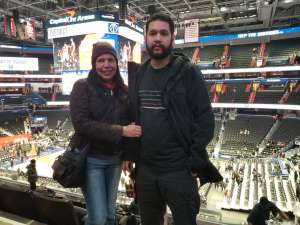 DIANGO attended Washington Wizards vs. Chicago Bulls - NBA on Feb 11th 2020 via VetTix