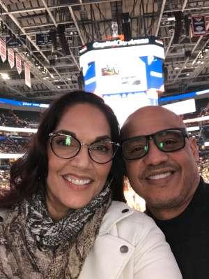 Erika attended Washington Wizards vs. Chicago Bulls - NBA on Feb 11th 2020 via VetTix