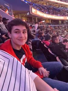 Megan attended Washington Wizards vs. Chicago Bulls - NBA on Feb 11th 2020 via VetTix