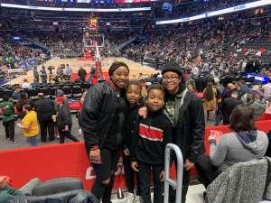 Jacques attended Washington Wizards vs. Chicago Bulls - NBA on Feb 11th 2020 via VetTix