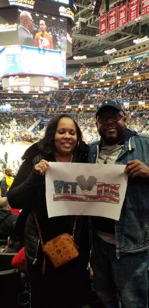 Tyrod attended Washington Wizards vs. Chicago Bulls - NBA on Feb 11th 2020 via VetTix
