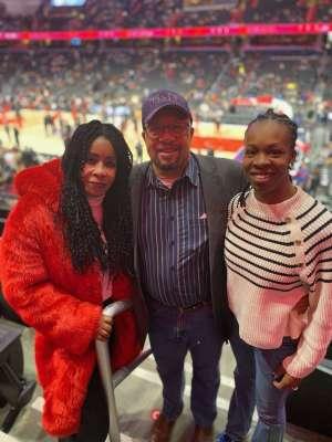 Wilbert attended Washington Wizards vs. Cleveland Cavaliers - NBA on Feb 21st 2020 via VetTix