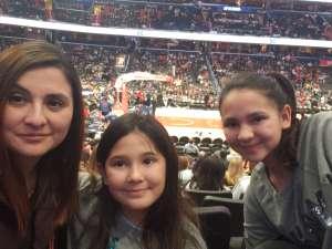 Corrine attended Washington Wizards vs. Cleveland Cavaliers - NBA on Feb 21st 2020 via VetTix