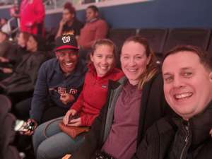 David attended Washington Wizards vs. Cleveland Cavaliers - NBA on Feb 21st 2020 via VetTix