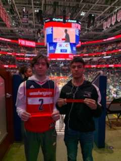Robert attended Washington Wizards vs. Cleveland Cavaliers - NBA on Feb 21st 2020 via VetTix