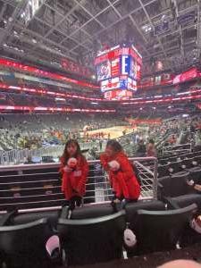 JessieLee attended Washington Wizards vs. Cleveland Cavaliers - NBA on Feb 21st 2020 via VetTix