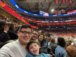Angel attended Washington Wizards vs. Cleveland Cavaliers - NBA on Feb 21st 2020 via VetTix
