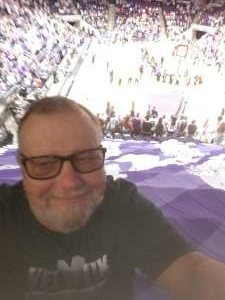 Paul attended Grand Canyon University Lopes vs. Chicago State - NCAA Men's Basketball on Feb 15th 2020 via VetTix