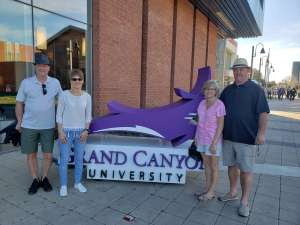 Gregory attended Grand Canyon University Lopes vs. Chicago State - NCAA Men's Basketball on Feb 15th 2020 via VetTix