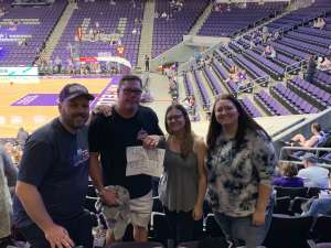 Chad attended Grand Canyon University Lopes vs. Chicago State - NCAA Men's Basketball on Feb 15th 2020 via VetTix