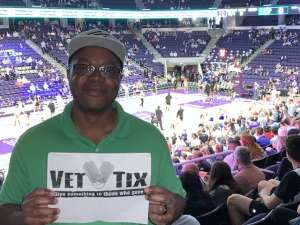 Terrance attended Grand Canyon University Lopes vs. Chicago State - NCAA Men's Basketball on Feb 15th 2020 via VetTix