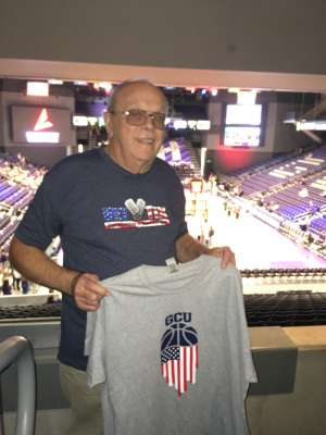 Glenn attended Grand Canyon University Lopes vs. Chicago State - NCAA Men's Basketball on Feb 15th 2020 via VetTix