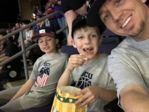 Joseph attended Grand Canyon University Lopes vs. Chicago State - NCAA Men's Basketball on Feb 15th 2020 via VetTix