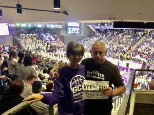 RONALD attended Grand Canyon University Lopes vs. Chicago State - NCAA Men's Basketball on Feb 15th 2020 via VetTix