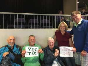 Thomas attended Grand Canyon University Lopes vs. Chicago State - NCAA Men's Basketball on Feb 15th 2020 via VetTix
