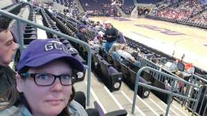Kim attended Grand Canyon University Lopes vs. Chicago State - NCAA Men's Basketball on Feb 15th 2020 via VetTix