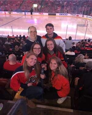 John attended Florida Panthers vs. Philadelphia Flyers - NHL on Feb 13th 2020 via VetTix