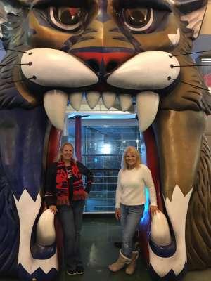 Celeste attended Florida Panthers vs. Philadelphia Flyers - NHL on Feb 13th 2020 via VetTix