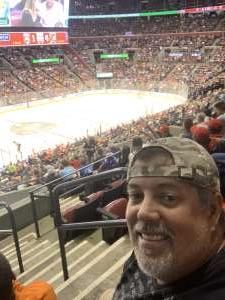 guy attended Florida Panthers vs. Philadelphia Flyers - NHL on Feb 13th 2020 via VetTix