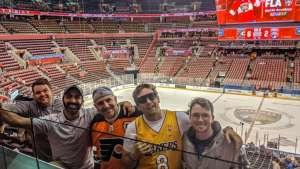 JASON attended Florida Panthers vs. Philadelphia Flyers - NHL on Feb 13th 2020 via VetTix