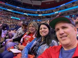 Jorge attended Florida Panthers vs. Philadelphia Flyers - NHL on Feb 13th 2020 via VetTix