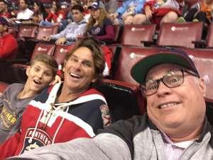 David attended Florida Panthers vs. Philadelphia Flyers - NHL on Feb 13th 2020 via VetTix