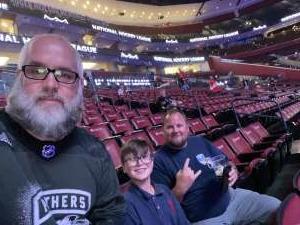 Paul attended Florida Panthers vs. Philadelphia Flyers - NHL on Feb 13th 2020 via VetTix