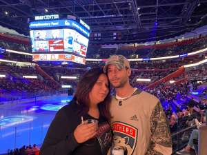 Emilio attended Florida Panthers vs. Philadelphia Flyers - NHL on Feb 13th 2020 via VetTix