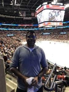 Lee attended Florida Panthers vs. Philadelphia Flyers - NHL on Feb 13th 2020 via VetTix